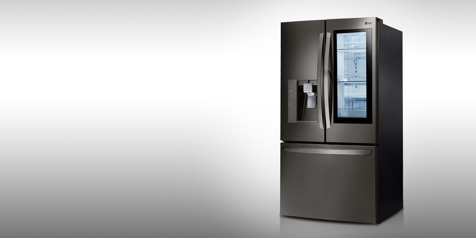 lg refrigerator lmxs27626d. raid the fridge without losing your cool lg refrigerator lmxs27626d t