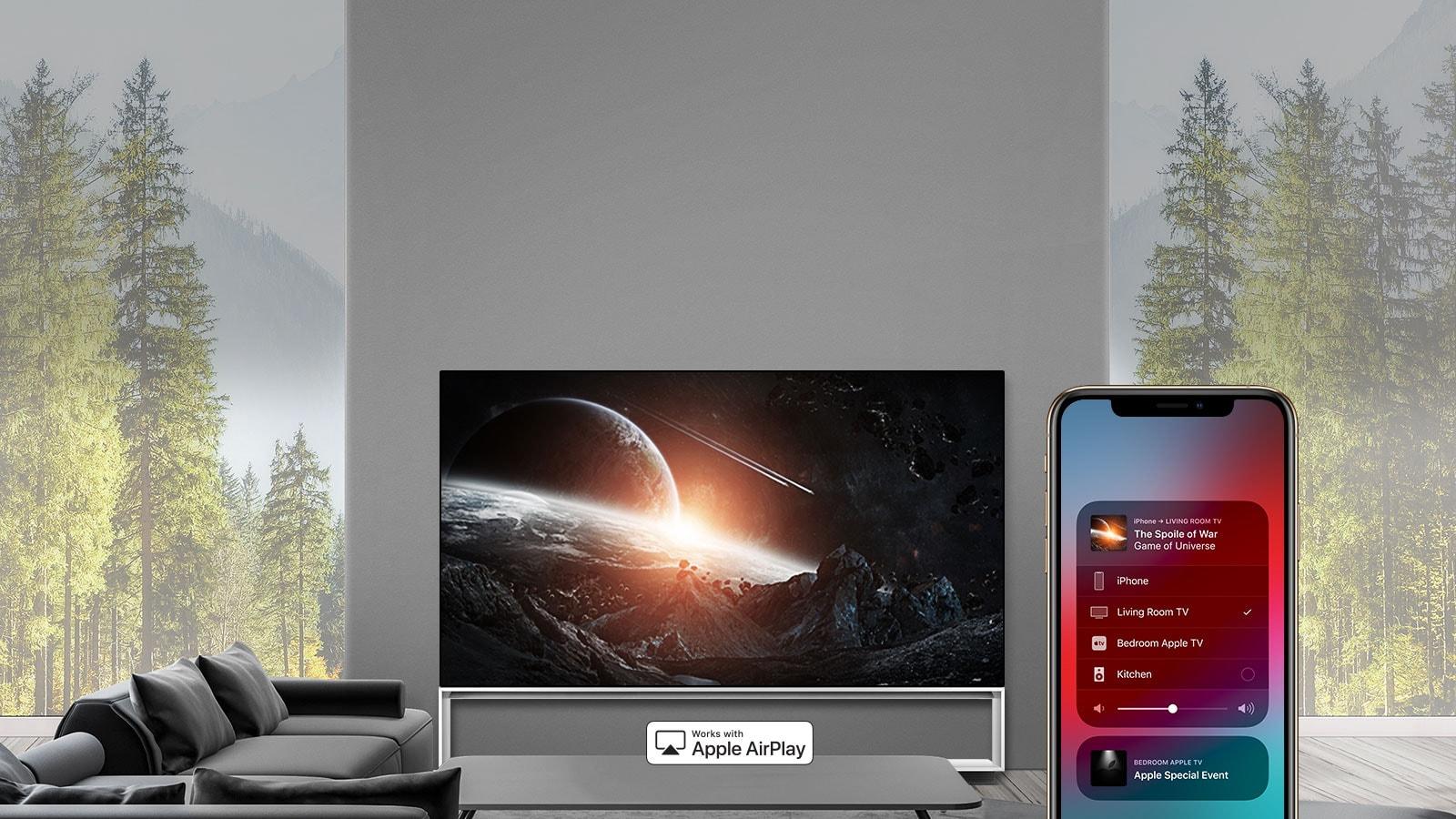 AirPlay позволяет вам делать все это.  Часы.  Слушать.  Share.1