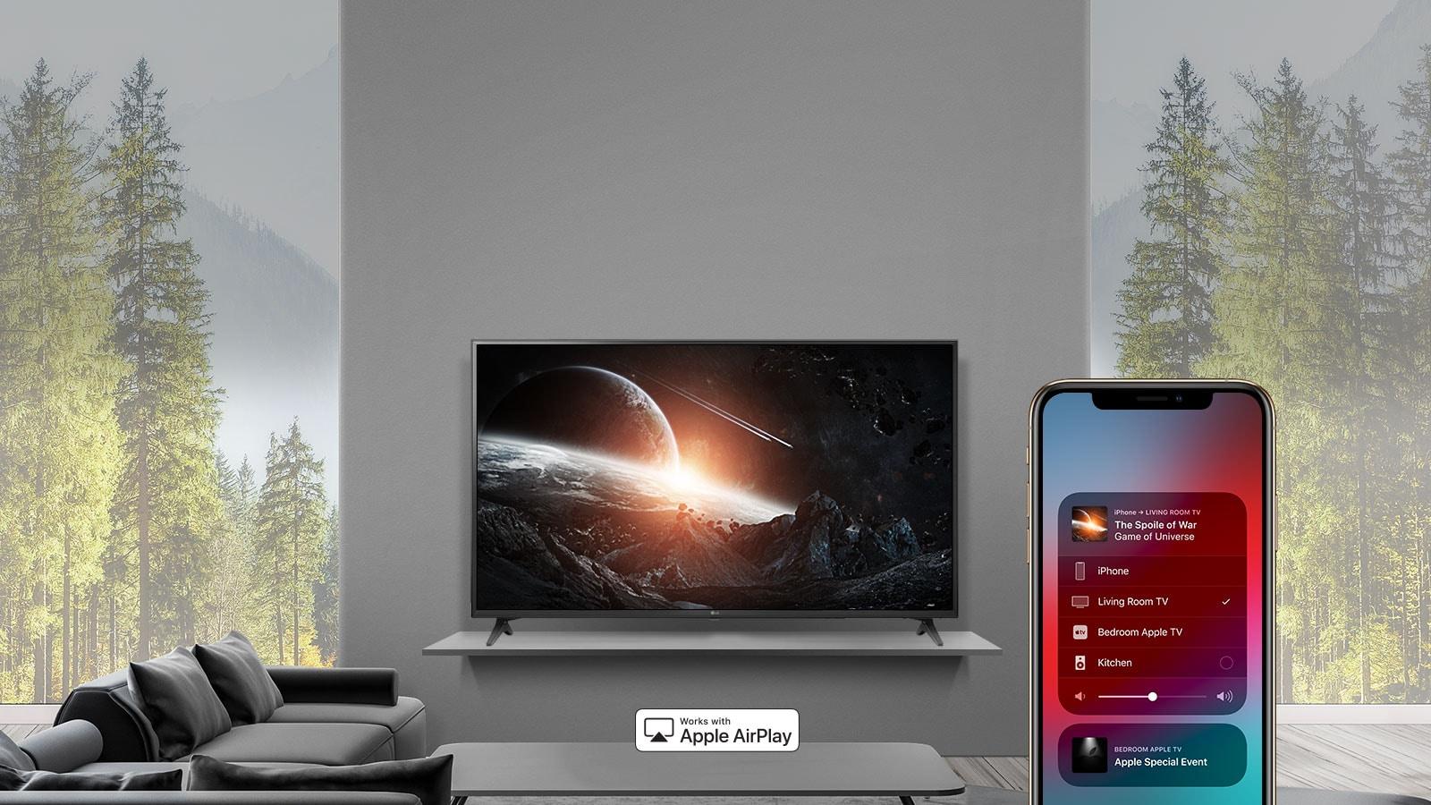 Video Caminetto Per Tv lg 43 inch class 4k hdr smart led tv (42.5'' diag)