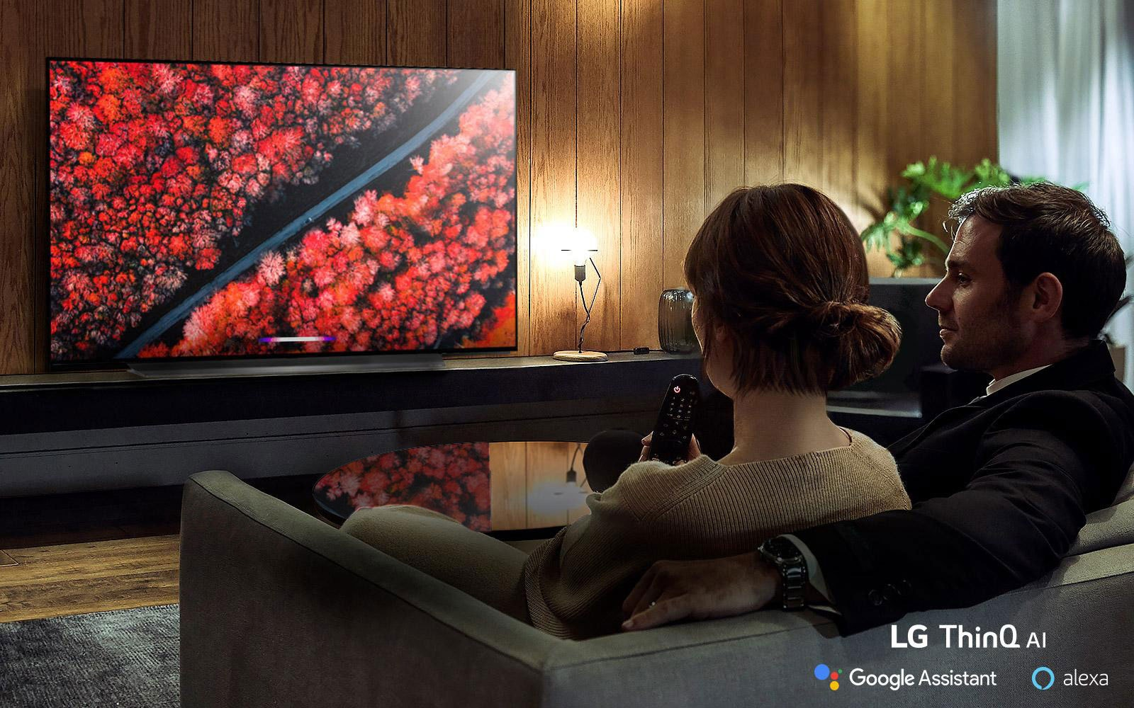 Introducing a more intelligent TV with LG ThinQ® AI3