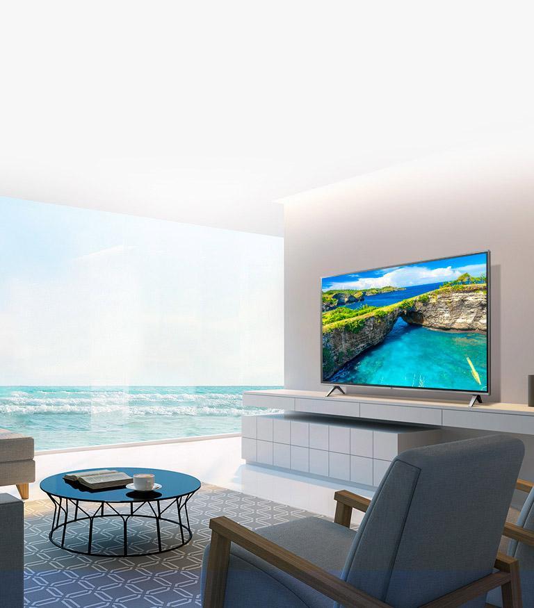 UK6500AUA 4K HDR Smart LED UHD TV w/ AI ThinQ® - 50'' Class (49 5'' Diag)