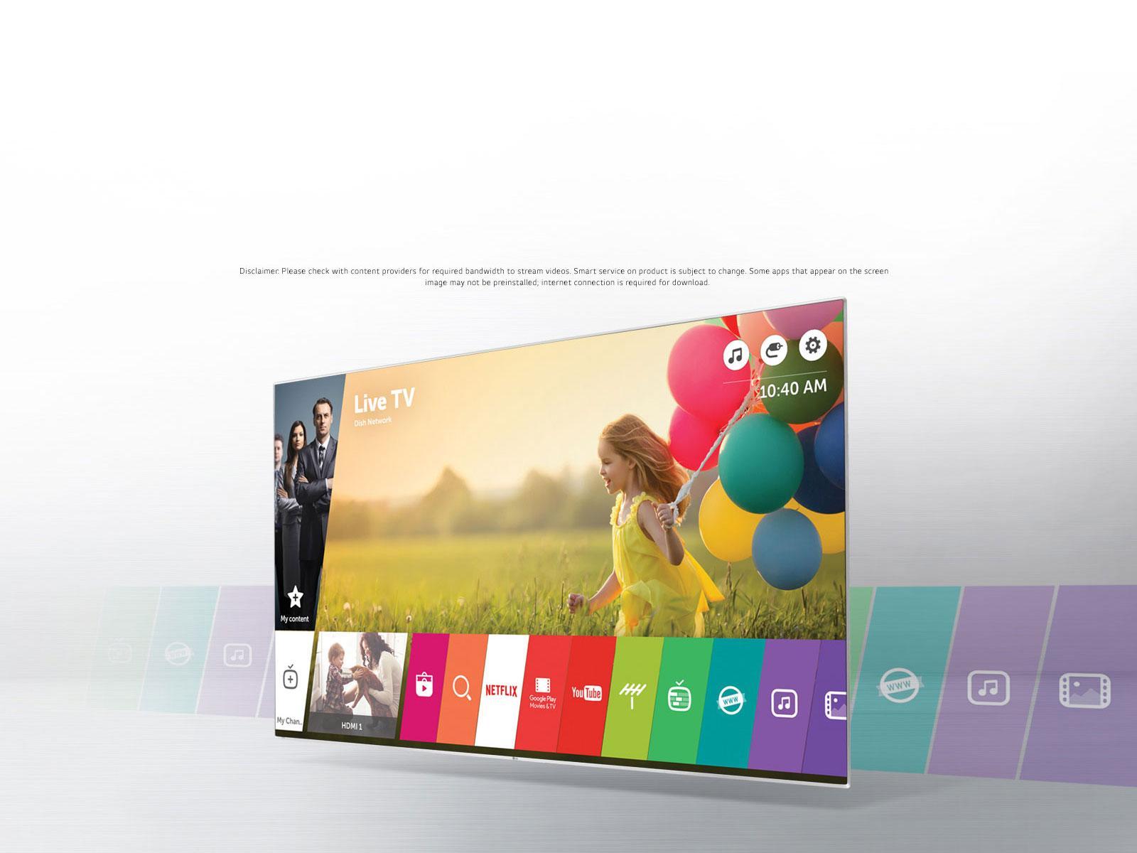 lg 55uh6090 55 inch 4k uhd smart led tv lg usa. Black Bedroom Furniture Sets. Home Design Ideas