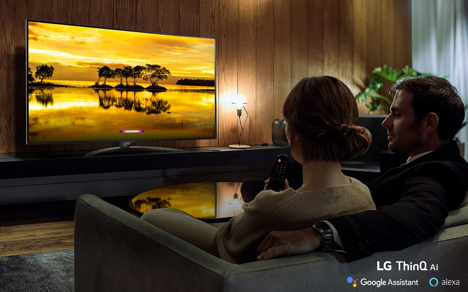 Introducing a more intelligent TV with LG ThinQ® AI