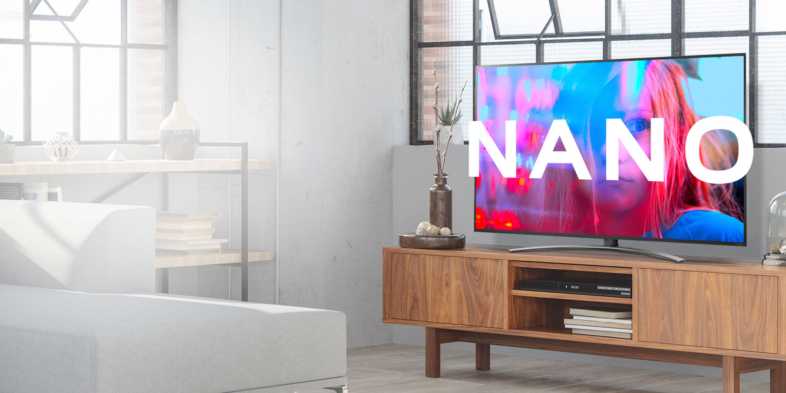 Bring Home the LG NanoCell TV SM86001