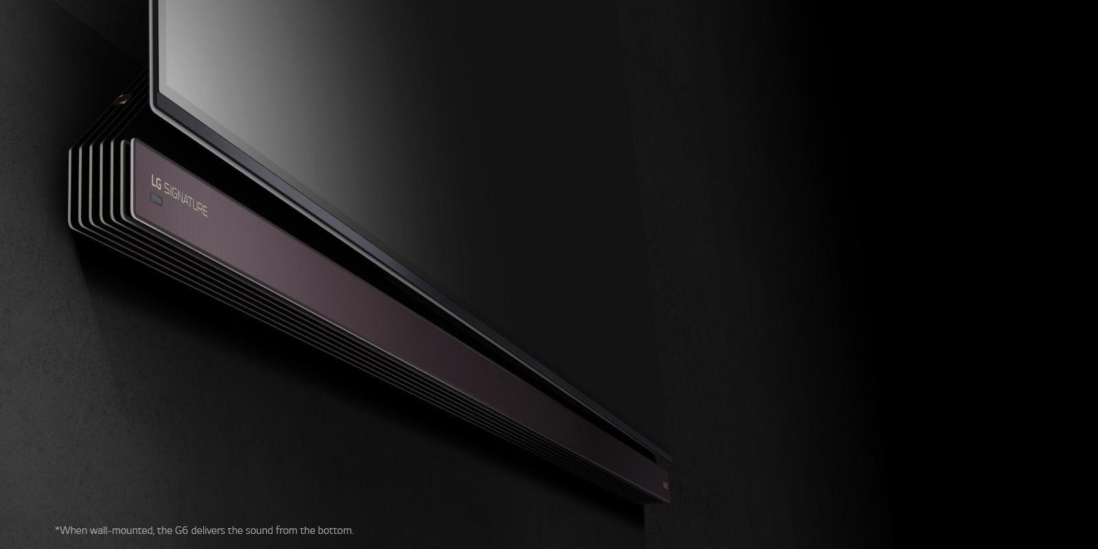 Lg Oled65g6p Lg Signature G6 65 Inch Oled 4k Smart Tv