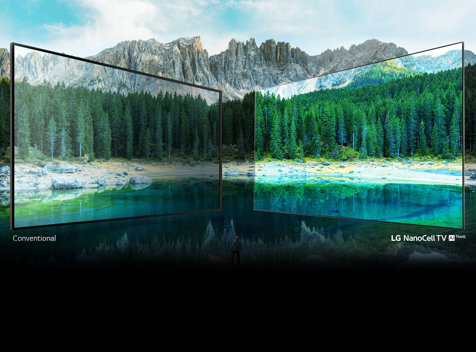 LG NanoCell TV 4K puts color on full display1