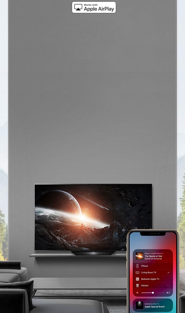 LG B9 65 inch Class 4K Smart OLED TV w/AI ThinQ® (64 5'' Diag)