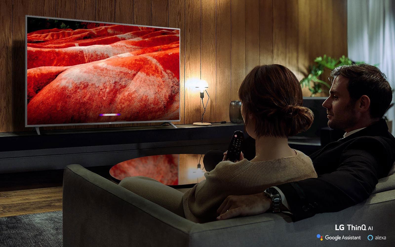 Video Caminetto Per Tv lg 82 inch class 4k smart uhd tv w/ ai thinq® (81.5'' diag)