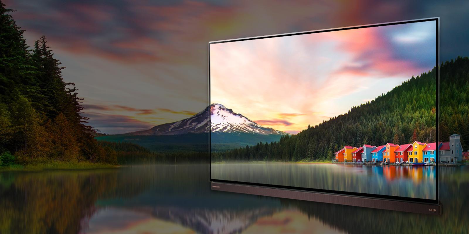 """[Trên tay] Chiếc TV LG Signature dòng G6 77"""", OLED, 4K, HDR, thiết kế sang trọng, mỏng chỉ 2,57mm - 107274"""
