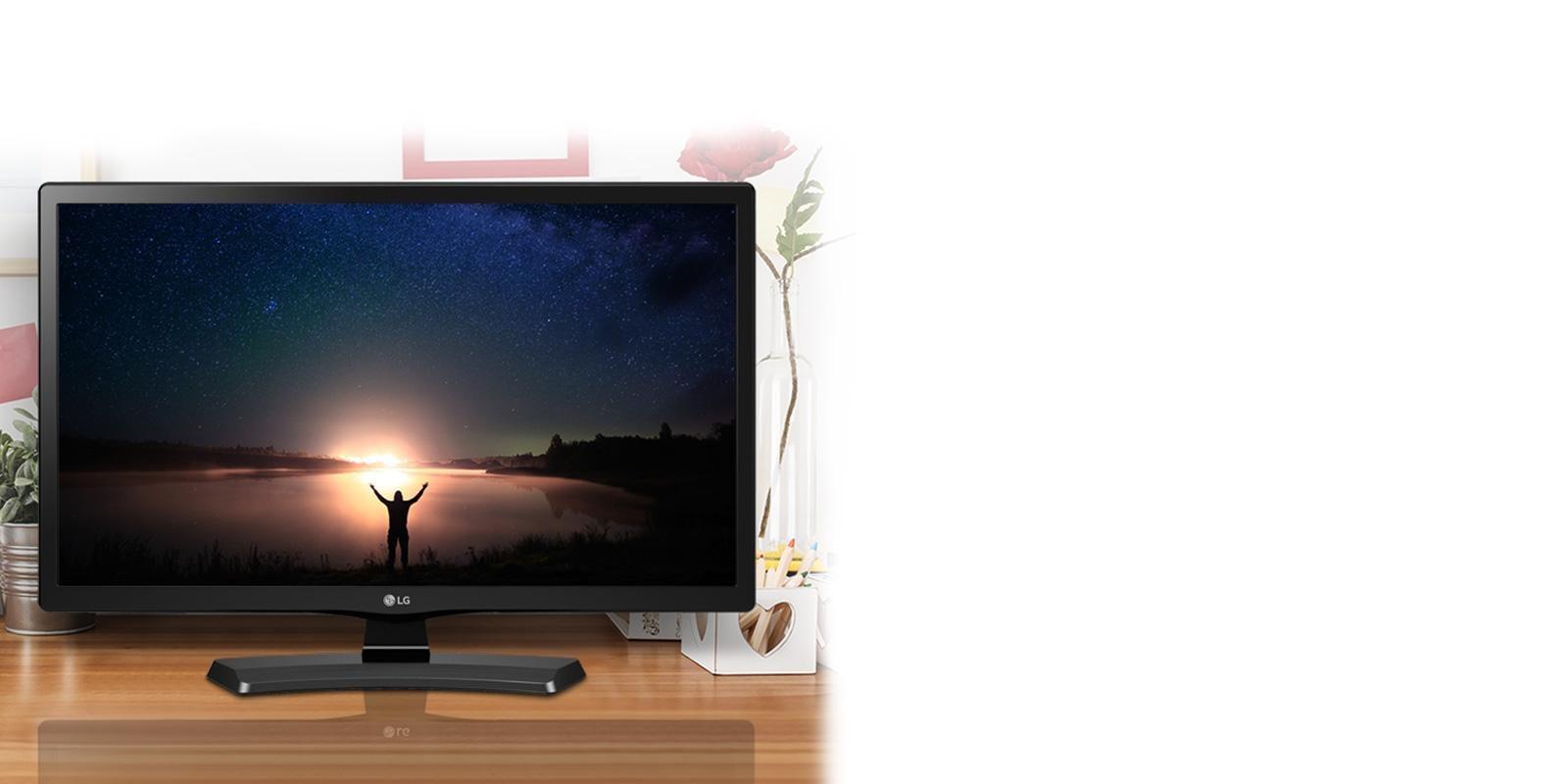 HD 720p LED TV - 24'' Class (23 6'' Diag)