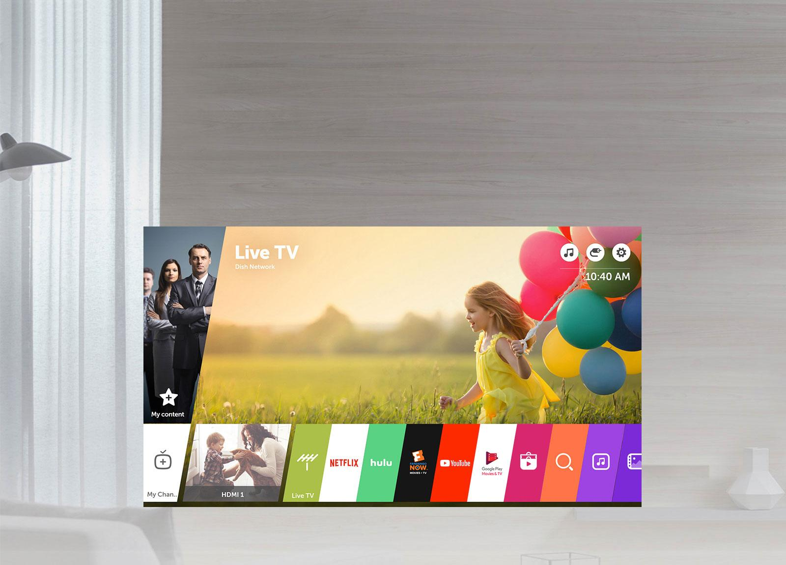 LG 32LJ550M: 32-inch HD 720p Smart LED TV | LG USA