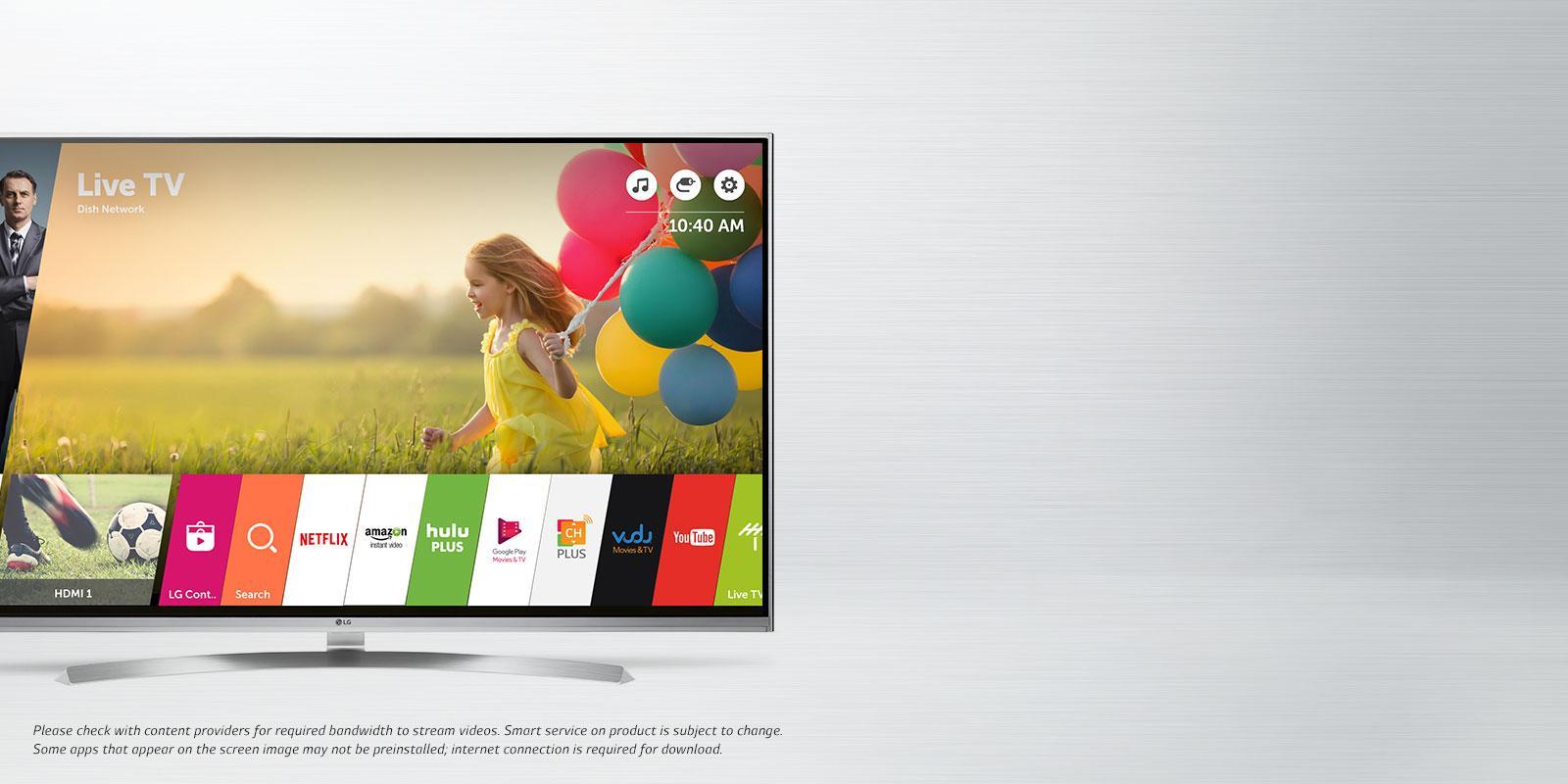 lg smart tvs internet ready tvs w apps lg usa. Black Bedroom Furniture Sets. Home Design Ideas