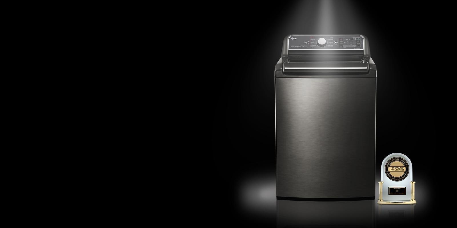 Lg Wt1901cw Large Top Load Smartthinq Washer W Turbowash
