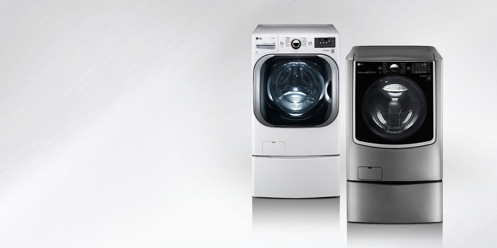 How Big Is A Washing Machine Lg Washers Innovative Washing Machine Solutions Lg Usa