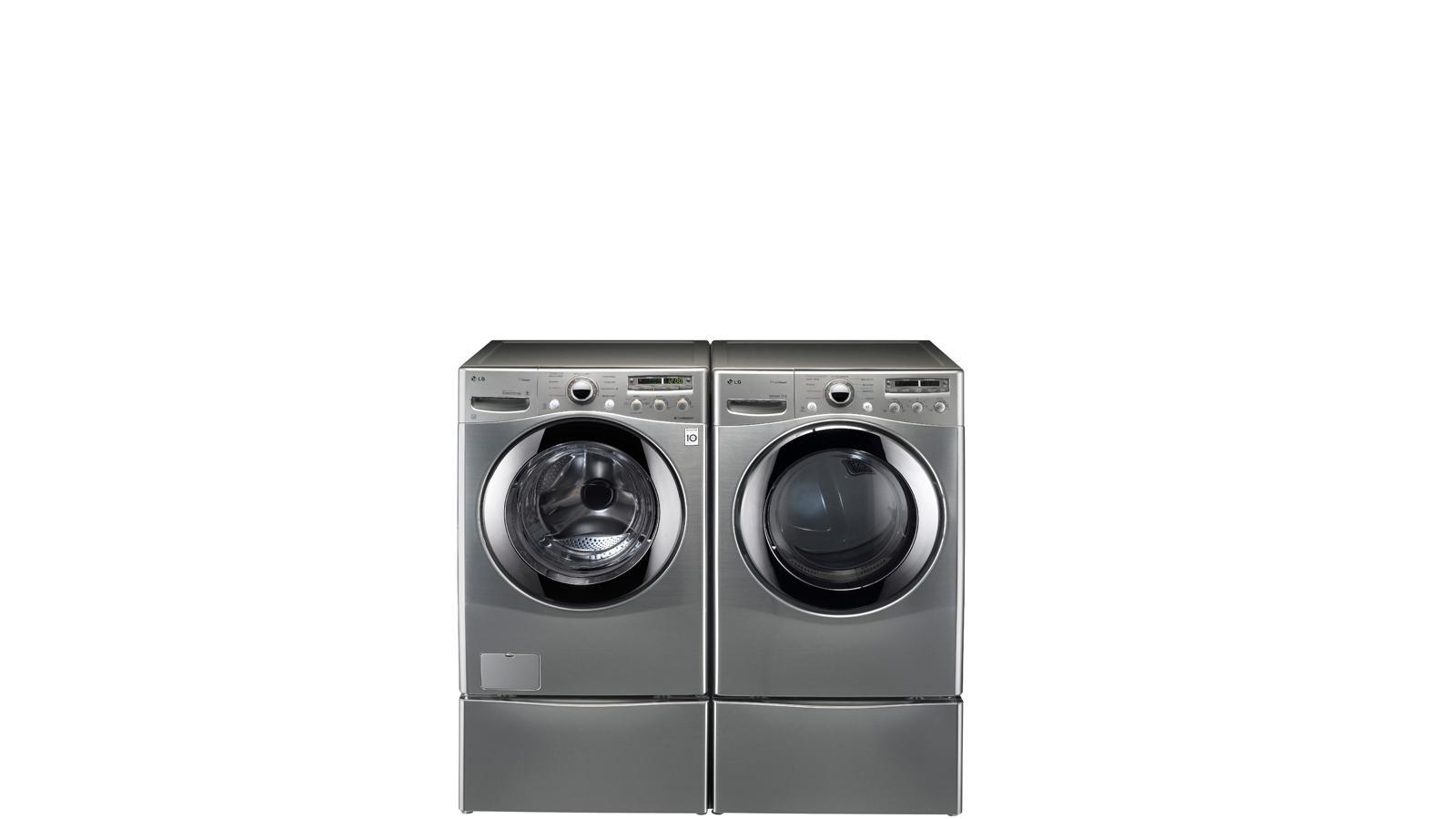 Lg Wdp4k Laundry Pedestal Black Stainless Steel Lg Usa
