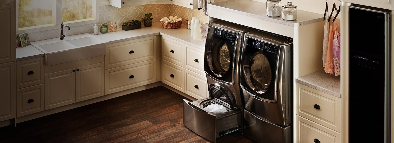 Twinwash Bundle W Washer Sidekick And Electric Dryer