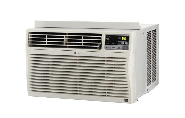 Lg Lw8013er 8 000 Btu Window Air Conditioner W Remote