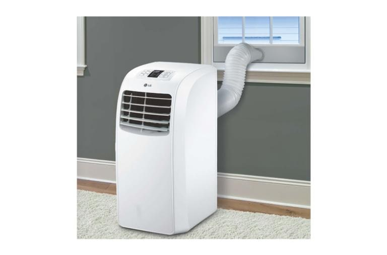 how to clean lg portable air conditioner