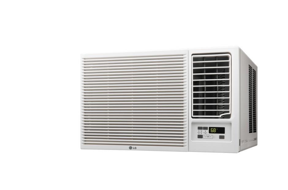 Lg 23000 btu window air conditioner cooling heating for 10 inch tall window air conditioner