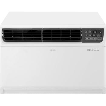 Lg window air conditioner units efficient cooling lg usa 18000 btu dual inverter smart wi fi enabled window air conditioner fandeluxe Choice Image