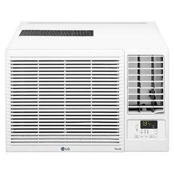 LG 12,000 BTU Smart Wi-Fi Enabled Window Air Conditioner, Cooling & Heating, LW1221HRSM