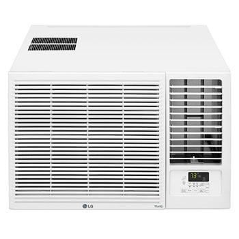 LG 23,000 BTU Smart Wi-Fi Enabled Window Air Conditioner, Cooling & Heating, LW2421HRSM