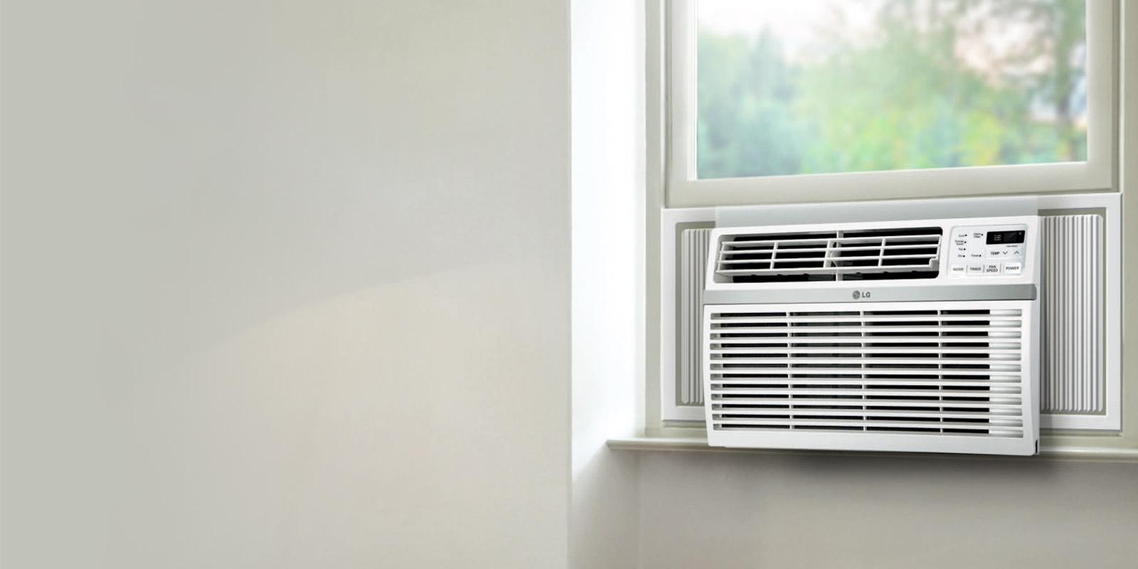 Lg air conditioner units stay cool comfortable lg usa for 14 wide window air conditioner