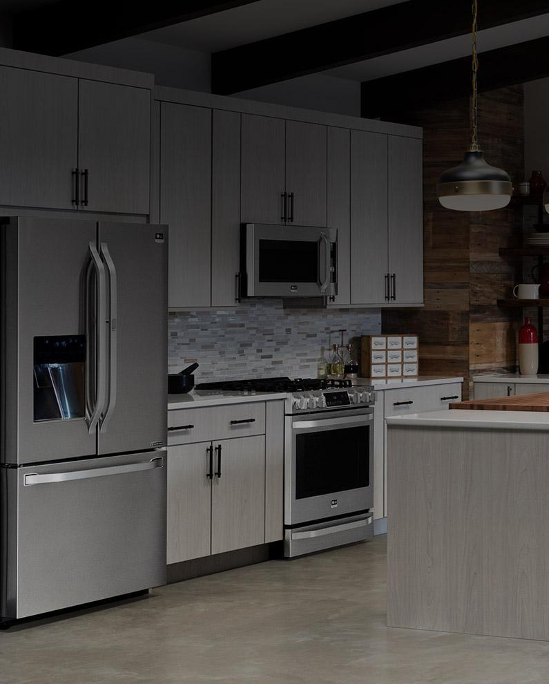 Lg Kitchen Appliances Reviews #27: Modern Kitchen Featuring LG Appliances.