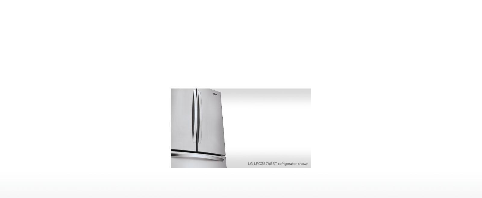 Lg Ldcs24223w Large 33 Inch Wide Bottom Freezer