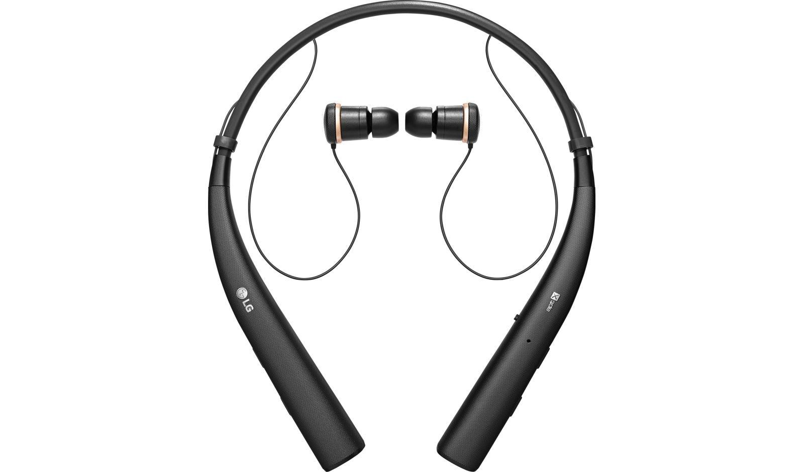 Lg Tone Pro Bluetooth Wireless Headset In Black Usa Wiring Jog Control