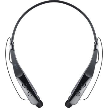 lg tone triumph bluetooth wireless headset - black | lg usa