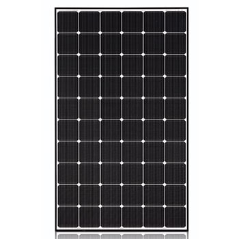 340W High Efficiency LG NeON® 2 Solar Panel with 60 Cells(6 x 10), Module Efficiency: 19.8%, Connector Type: MC41