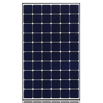 370W High Efficiency LG NeON® R Solar Panel with 60 Cells(6 x 10), Module Efficiency: 20.8%, Connector Type: MC41