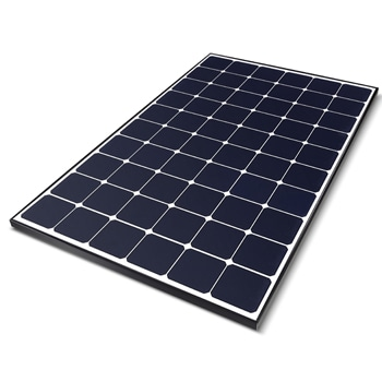 375W High Efficiency LG NeON® R ACe Solar Panel with Built-in Microinverter, 60 Cells(6 x 10), Module Efficiency: 21.7%1