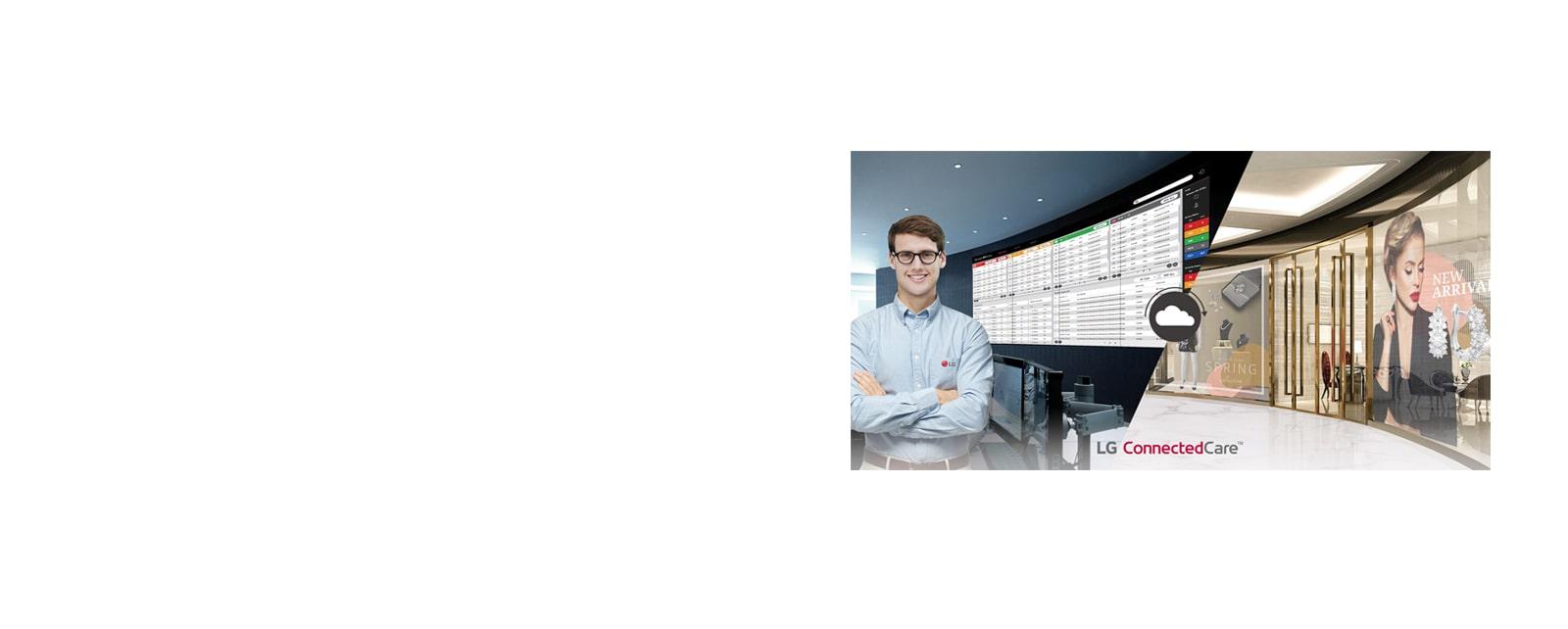 43UL3G-B Display Monitor LG Connectedcare