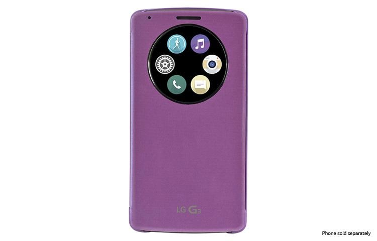 separation shoes 0ccfd da795 LG Quick Circle™ Snap-On Folio Case for LG G3™