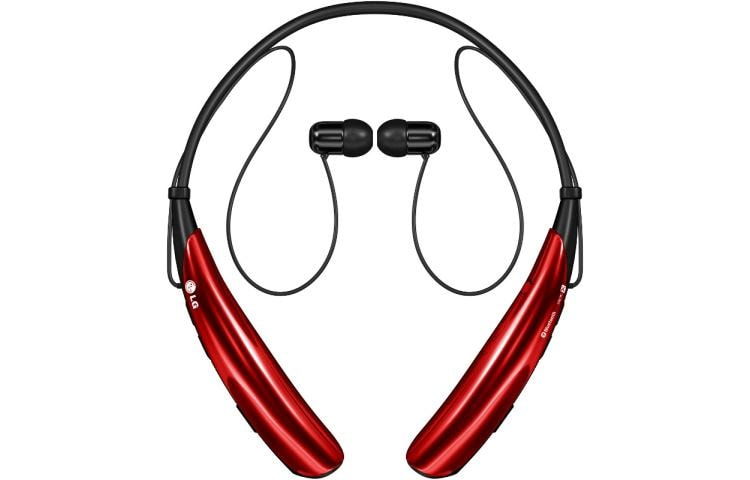 03dab11d32c LG HBS-750: LG TONE PRO. Bluetooth Headset in Red | LG USA