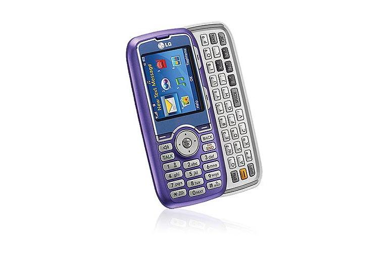 LG Cell Phones AX260 Lavender thumbnail 2