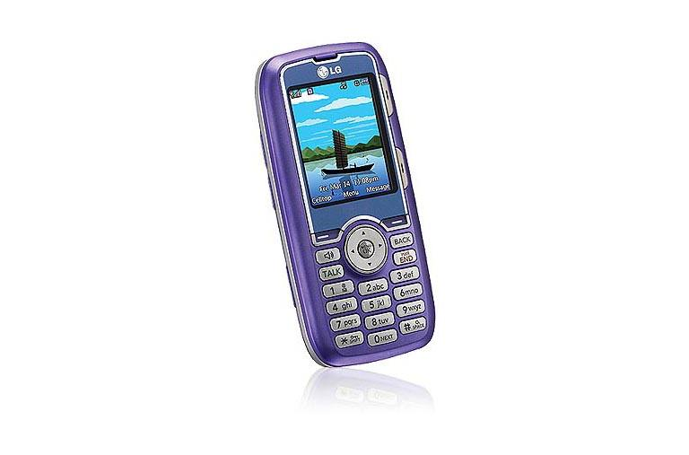 LG Cell Phones AX260 Lavender thumbnail 3