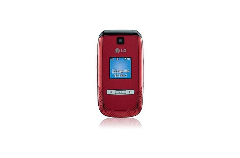 LG Cell Phones AX500 Red thumbnail 1