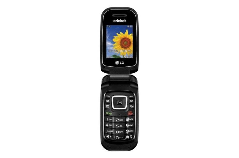 Lg True Basic Flip Phone For Cricket In Black Lg Usa