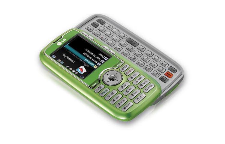 Lg Rumor Lime Green Qwerty Keyboard Cell Phone Lg Usa
