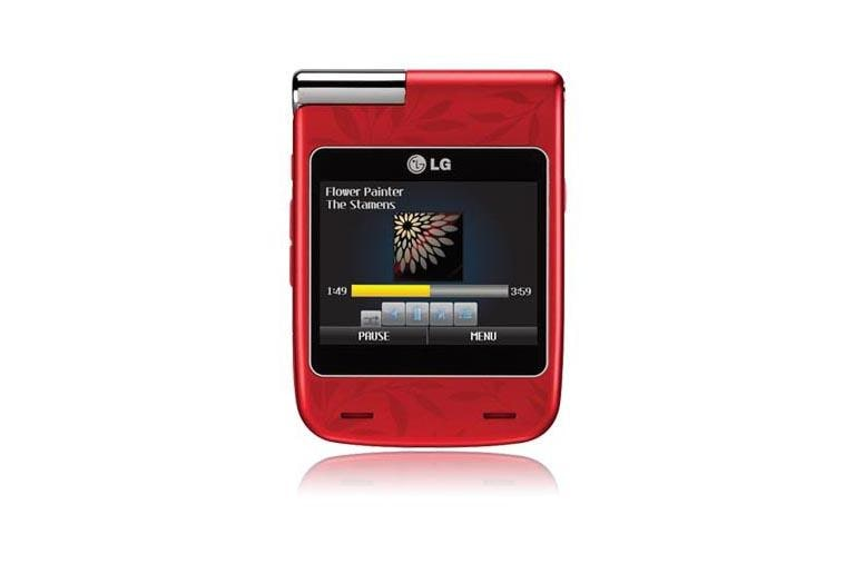 LG Cell Phones LX610 Red thumbnail 1