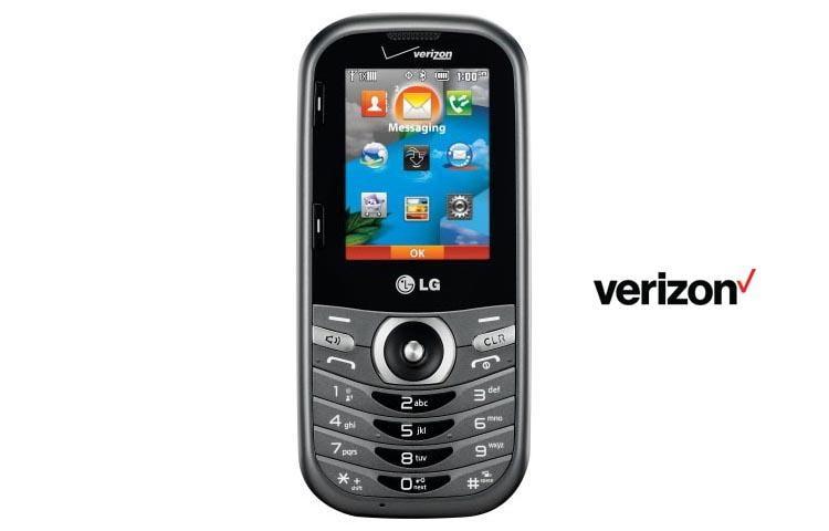 lg cosmos 3  vn251s  qwerty phone verizon wireless