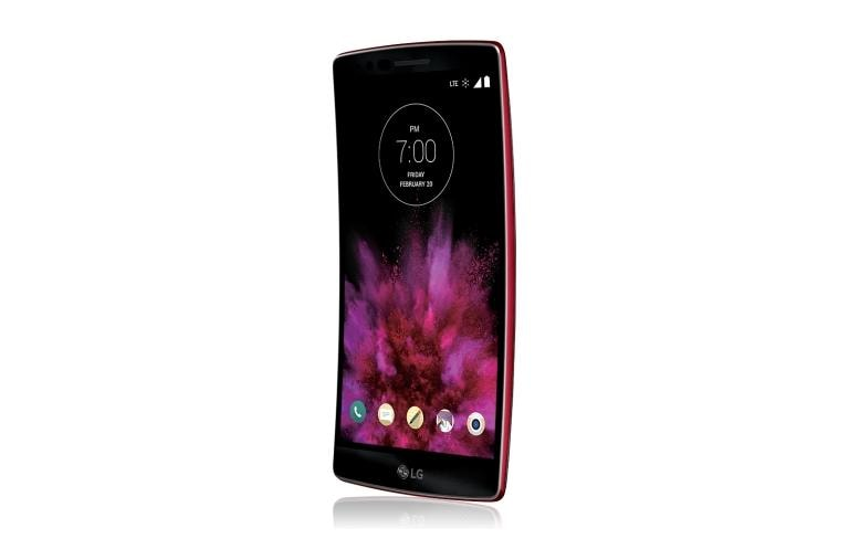 Cell Phones LG G Flex2 Sprint in Volcano Red thumbnail +3