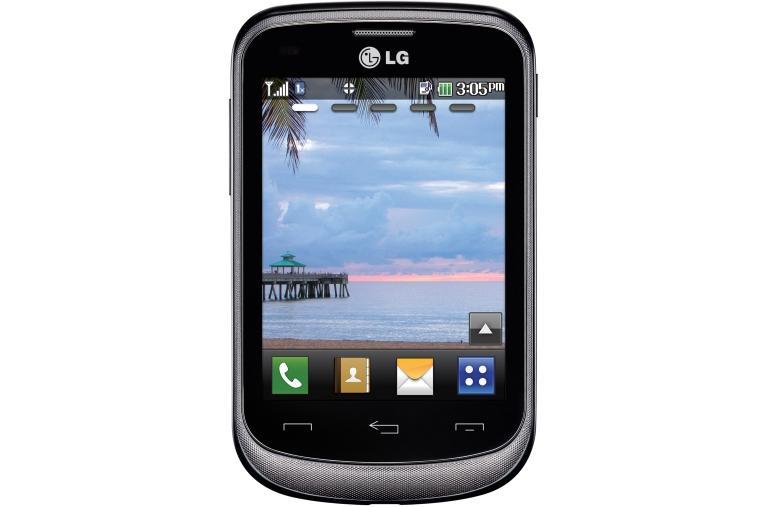 Lg 305c Cdma Tracfone Touch Screen Phone Lg Usa