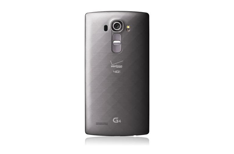 Cell Phones LG G4 Verizon in Metallic Gray thumbnail 3