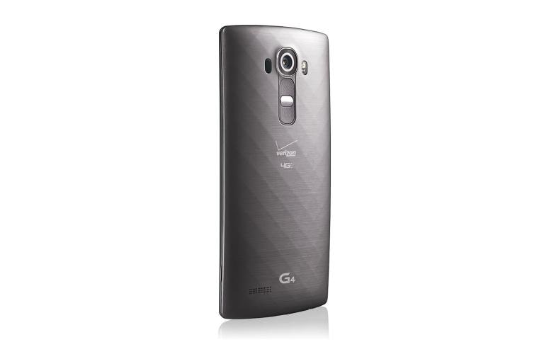 Cell Phones LG G4 Verizon in Metallic Gray thumbnail +3