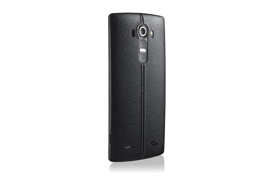 MOBILE PHONES LG G4 in Genuine Leather Black thumbnail 4