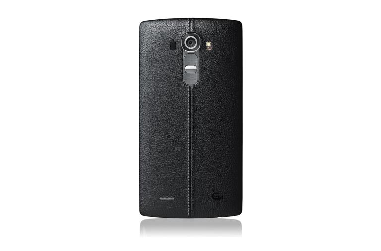 Cell Phones LG G4 Sprint in Genuine Leather Black thumbnail 3